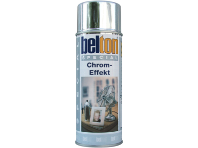 Belton spray 323 sølv kromeffekt