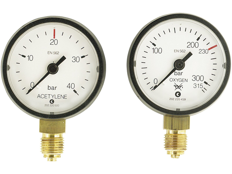 AGA Indholdsmanometer 0-315 t/JC500 AN