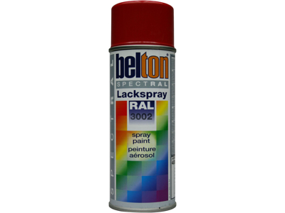 Belton spray 324 karminrød RAL3002