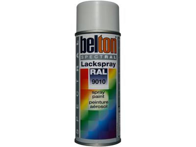 Belton spray 324 renhvid RAL9010