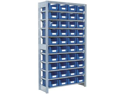 Småvarereol m/40 SK-kasser