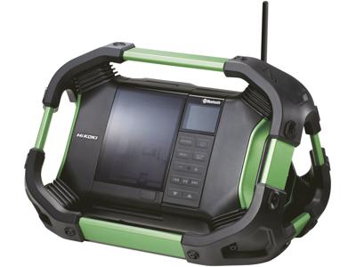 Hikoki Byggepladsradio AM/FM/DAB+ Bluetooth USB 14,4-18V