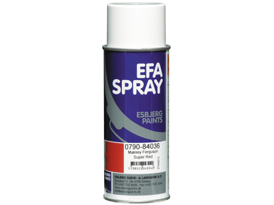 Esbjerg paint Efaspray M.F. super red 400 ml