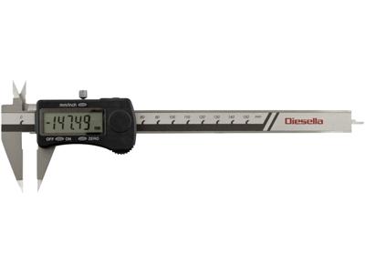 Digital skydelære 0-150 mm sp.kæber