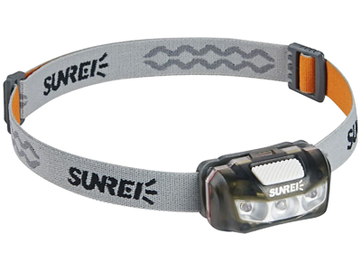 Sunree Sports 2S pandelampe sort