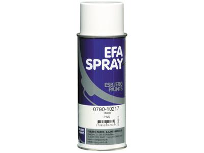 Esbjerg paint Efaspray hvid blank 400 ml