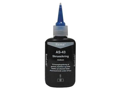 Kema Skruesikring AS-43 blå 50 ml