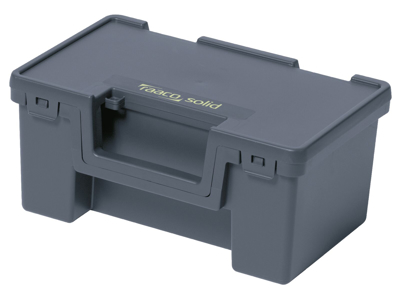 Solid 2 opbevar.box 170×370×275 blå