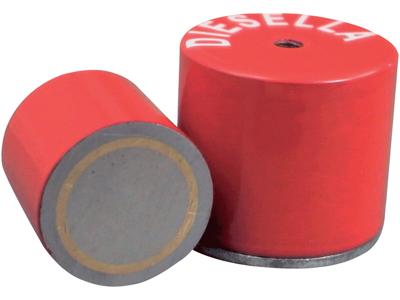 Pottemagnet ø35,0 × 30,0 mm M6 gev