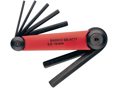 Bahco Unbrakonøglesæt BE-9777 2,5-10 mm