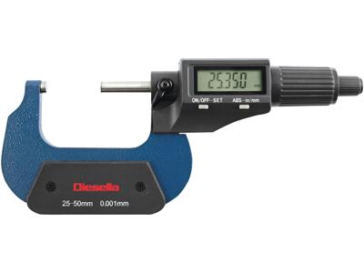 Digital micrometerskrue 0-25 mm