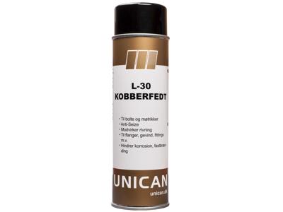Unican L-30 kobberfedt spray 500ml