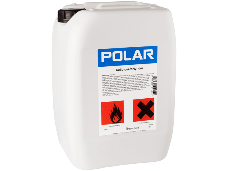 Polar cellulosefortynder 20 L