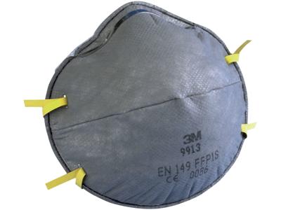 Støvmaske m/ventil FFP1 krt/100
