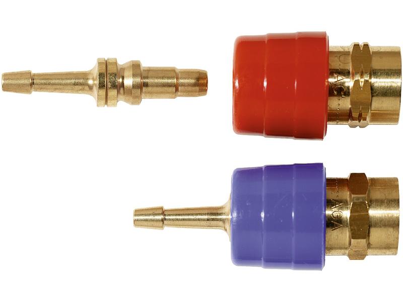 AGA Lynkobling R 3/8 V AC+H2 u/studs