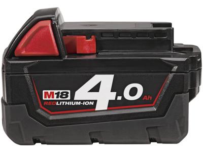 Milwaukee Batteri 18V/4,0Ah Li-ion M18 B4