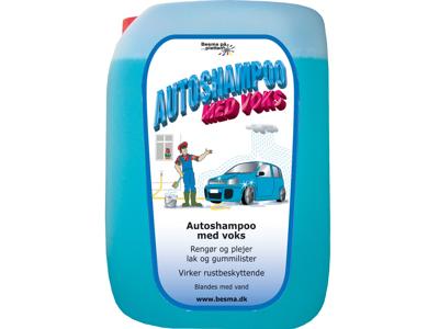 Autoshampoo m/voks 20 L