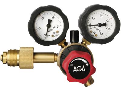 AGA Reg.fixicontr acetylen HT 0-1,5 bar