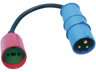 Adaptor CEE stikprop, DK forl.