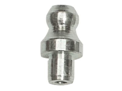 Smørenippel H1- 8 mm glat tap