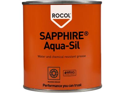 Rocol Sapphire Aqua silic.fedt 500g