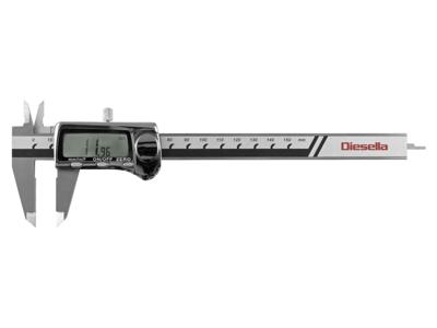 Diesella Digital skydelære 0-150 m/brøkvisn.