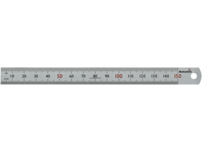Hultafors Stållineal STL 150 mm
