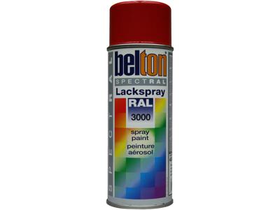 Belton spray 324 flammerød RAL3000