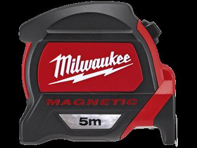 Milwaukee Båndmål m/fingerstop kl.II 5 mtr
