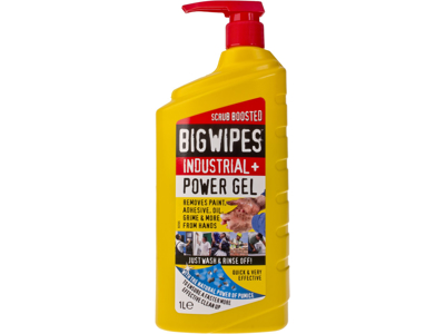 Big Wipes red power gel