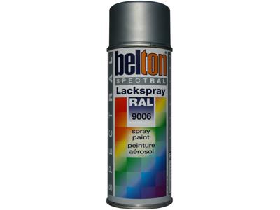 Belton spray 324 hvidalu. RAL9006