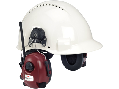 Høreværnsradio til hjelm