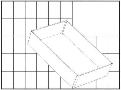 Indsats 80 BA6-1 69×109×157 klar
