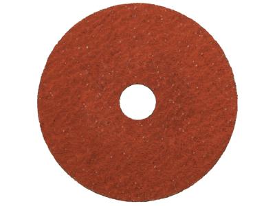 Slibeskive naturfiber 125mm korn 36