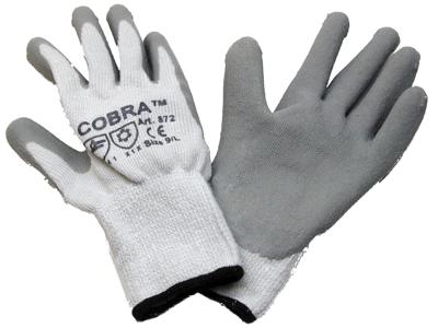 Cobra Handske M. Gummi 872