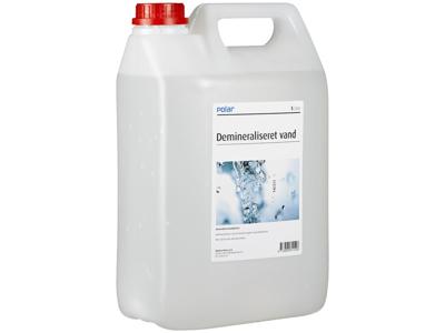 Polar demineraliseret vand 5 L