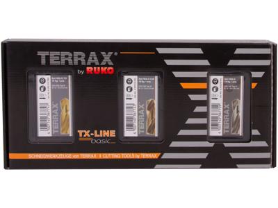 Ruko 3 borsæt Terrax 1-10×0,5mm