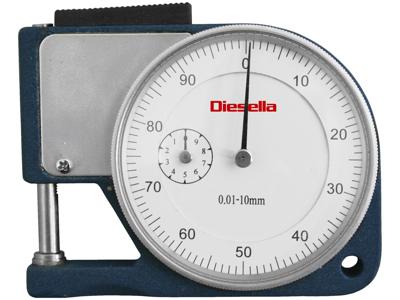 Diesella Tykkelsesmåler lommemodel 0-10 mm