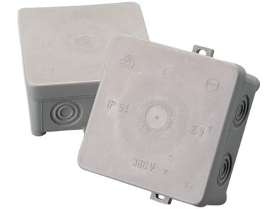 Forgreningsdåse 70×70 IP54 grå