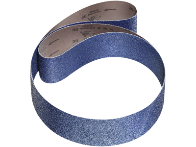 Slibebånd 2820 75x2000 K50 blå