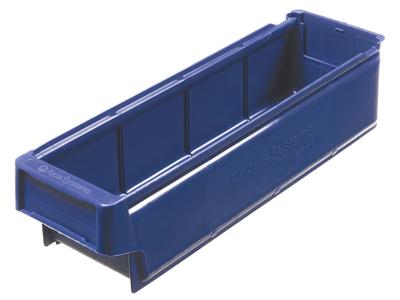 9000 lagerkasse blå 3,4 L 400 mm