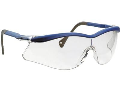 OX1000 brille klar blå stænger
