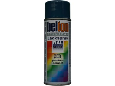 Belton spray 324 azurblå RAL 5009