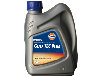 Gulf TEC Plus 10W-40 1 ltr.