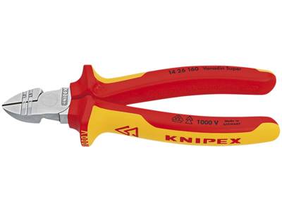 Knipex Afisoleringsskævbider 14 26 160 mm