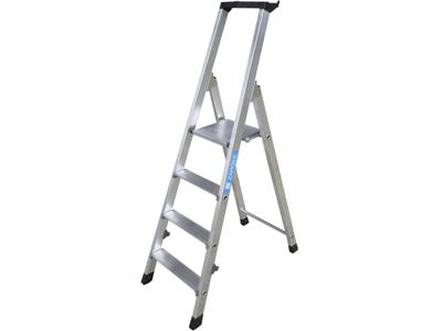 Håndværker trappestige 7 trin 1,48m