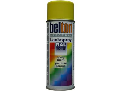 Belton spray 324 zinkgul RAL1018