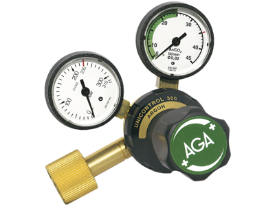 AGA Regulator Unicontrol 300 argon HT
