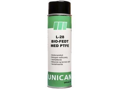 Unican L-28 bio-fedt m/PTFE 500ml