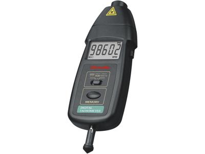 Tachometer/omdr.måler optisk+mek.